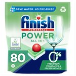 Finish 0% All in One Max Recyclable Dishwasher Tablets