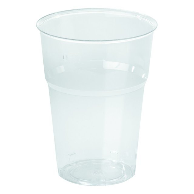 Plastic Tumblers 35cl, Clear
