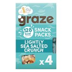 Graze Lightly Sea Salted Crunch Multipack