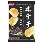 Koikeya Original Premium Japanese Potato Chips Wasabi Nori