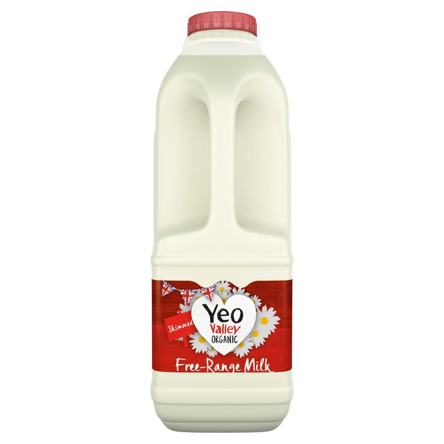 Yeo Valley Organic Skimmed Milk