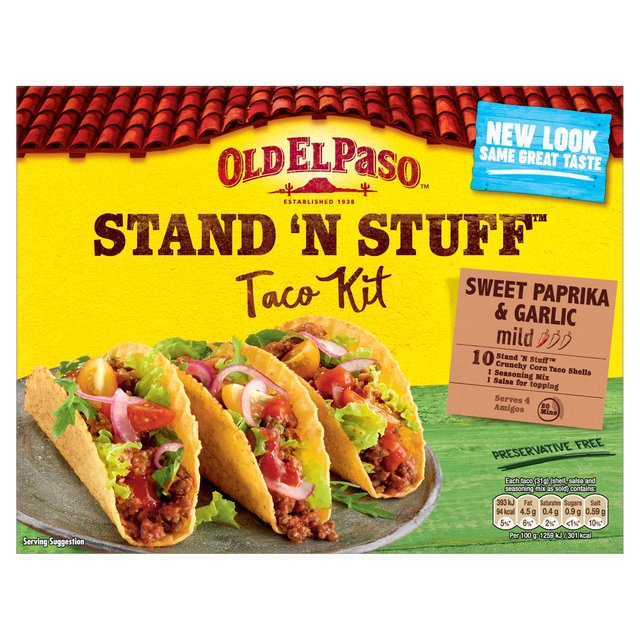 Get $1 off when you purchase 3 Old El Paso products.