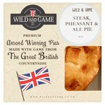 Wild and Game Pheasant, Steak & Ale Pie