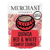 Merchant Gourmet Ready to Eat Quinoa Red & White