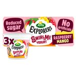 Arla Explorers Raspberry and Mango Swirl Yoghurt