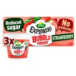 Arla Explorers Strawberry Bubble Yoghurt
