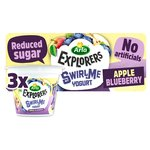 Arla Explorers Apple Blueberry Swirl Yogurt