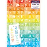 Birthday Rainbow Gift Wrap Sheets & Tags