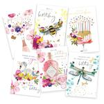 Hand Finished Birthday Card Bundle