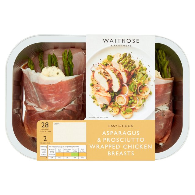 Chicken Fillets with Asparagus Prosciutto & Bearnaise Butter Waitrose