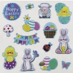 Puffy Easter Stickers