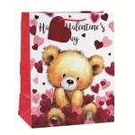 Bear Hearts Large Valentine's Day Gift Bag