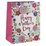 Mother's Day Flowers Large Gift Bag