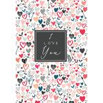 Laura Darrington I Love You Valentine's Day Card