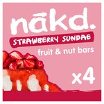 Nakd Strawberry Sundae Multipack
