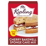 Mr Kipling Cherry Bakewell Sponge Cake Mix