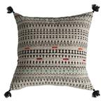 Gallery Meccah Embroidered Cushion, Multi