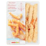 Waitrose Panko Breaded King Prawns