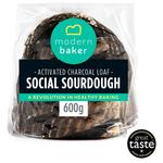 Modern Baker Social Charcoal Sourdough Loaf