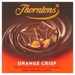 Thorntons Orange Chocolate Block
