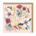 Mum Floral Greeting Card by Ohh Deer