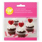 Valentine's Day Honeycomb Cupcake Picks