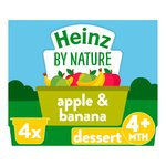 Heinz Apple & Banana Fruit Pots