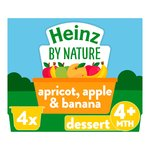Heinz Apple, Banana & Apricot Pots