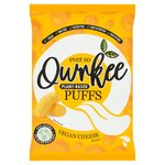 Qwrkee Gut Friendly Probiotic Vegan Cheese Flavoured Puffs