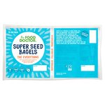 The Food Doctor Super Seeds Everything Bagels