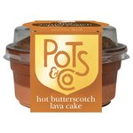 Pots & Co Hot Butterscotch Lava Cake