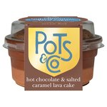Pots & Co Hot Salted Caramel & Chocolate Lava Cake