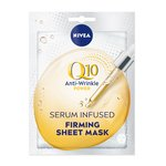 NIVEA Q10 Power 10 Minute Sheet Mask Anti-Wrinkle & Firming with Creatine