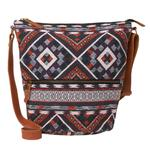 FatFace Tia Woven Aztec Cross Body Bag, Multi