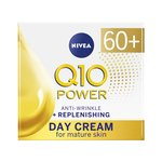 NIVEA Q10 Power Anti-Wrinkle Face Day Cream Anti-Ageing for Mature Skin 60+