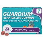 Guardium Heartburn & Acid Reflux Control 20mg Tablets