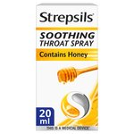 Strepsils Sore Throat Soothing Spray Honey