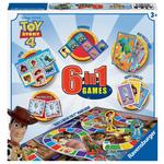 Disney Pixar Toy Story 4  6 in 1 Board Games, 3 yrs+