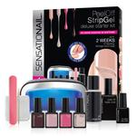 Sensationail Peel Off StripGel Deluxe Starter Kit
