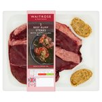 Waitrose Rump Steak with a Chimichurri Butter