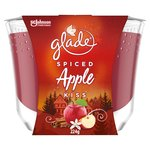 Glade Large Candle Spiced Apple Air Freshener