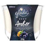 Glade Large Candle Amber Hills Air Freshener