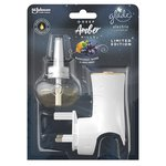 Glade Electric Holder & Refill Amber Hills Scented Oil Plugin