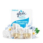 Glade Electric Twin Refill Clean Linen Scented Oil Plugin