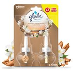 Glade Electric Twin Refill Sandalwood & Jasmine Scented Oil Plugin