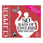 Clipper Organic Fairtrade English Breakfast Tea