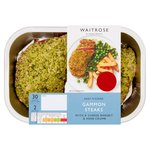 Waitrose Easy to Cook Gammon with Ale Rarebit