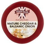 Joseph Heler Mature Cheddar & Balsamic Red Waxed Truckle