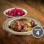 The Juicy Meat Co Low Slow & Easy British Beef Cheeks and Mustard Sauce
