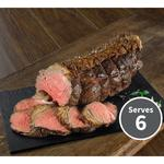 The Juicy Meat Co Exceptional Seasoned Dry Aged British Beef Rump Joint